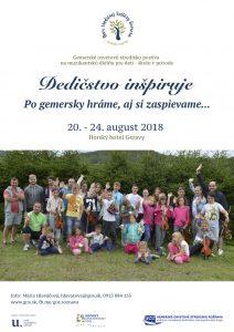 DEDINKY - Po gemersky hráme, aj si zaspievame @ Horský hotel Geravy | Slovensko