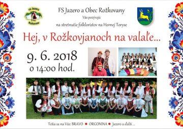 ROŽKOVANY - Hej, v Rožkovjanoch na valaľe @ KD Rožkovany | Rožkovany | Prešovský kraj | Slovensko