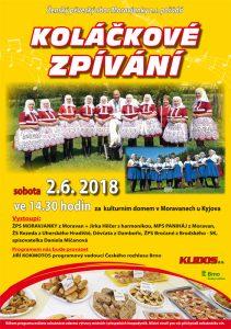 MORAVANY U KYJOVA - Koláčkové zpívaní @ KD v Moravanech u Kyjova. | Moravany | Juhomoravský kraj | Česko