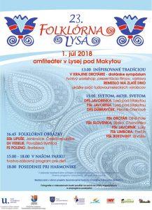 LYSÁ POD MAKYTOU - Folklórna Lysá @ Amfiteáter Lysá pod Makytou | Lysá pod Makytou | Trenčiansky kraj | Slovensko
