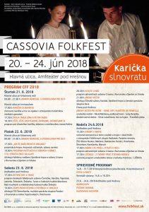 KAVEČANY - Cassovia folkfest @ Amfiteáter pod Hrešnou | Košický kraj | Slovensko