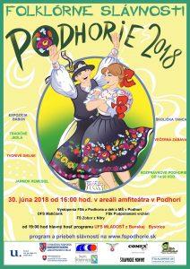 PODHORIE - Folklórne slávnosti @ Amfiteáter Podhorie | Podhorie | Banskobystrický kraj | Slovensko