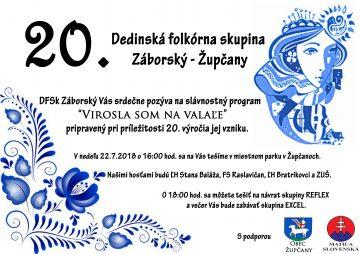 ŽUPČANY - Virosla som na valale @ Miestny park v Župčanoch pri Prešove | Župčany | Prešovský kraj | Slovensko