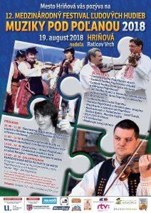 HRIŇOVÁ - Muziky pod Poľanou 2018 @ Hriňová - Raticov Vrch | Hriňová | Banskobystrický kraj | Slovensko