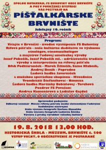 BRVNIŠTE - Píšťlkárske Brvnište @ Múzeum-Historická škola č. 500, BRVNIŠTE | Brvnište | Trenčiansky kraj | Slovensko