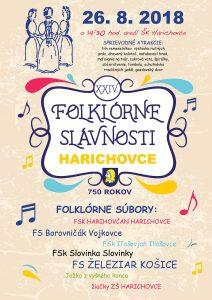 HARICHOVCE - Obecné folklórne slávnosti Harichovce 2018 @ Levočská 13, 05301 Harichovce | Harichovce | Košický kraj | Slovensko