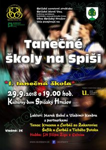 SPIŠSKÝ HRUŠOV - Tanečné školy na Spiši @ Kultúrny dom, Spišský Hrušov | Spišský Hrušov | Košický kraj | Slovensko
