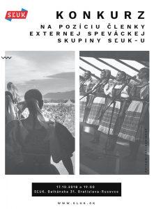 BRATISLAVA - Konkurz do speváckej skupiny SĽUK-u @ Balkánska 31, Bratislava – Rusovce | Bratislava | Bratislavský kraj | Slovensko