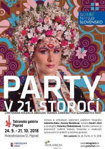 POPRAD - Party v 21. storočí @ Tatranská galéria Poprad - Elektráreň, Poprad | Prešovský kraj | Slovensko