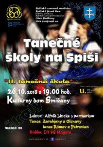 SMIŽANY - II. tanečná škola na Spiši @ Kultúrny dom, Smižany | Smižany | Košický kraj | Slovensko