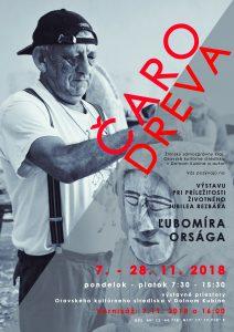 DOLNÝ KUBÍN - Čaro dreva @ Oravské kultúrne stredisko v Dolnom Kubíne | Dolný Kubín | Žilinský kraj | Slovensko