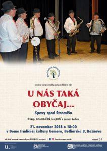 ROŽŇAVA - Spevy spod Stromíša @ Dom tradičnej kultúry Gemera vRožňave | Košický kraj | Slovensko