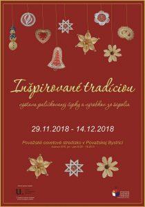 POVAŽSKÁ BYSTRICA - Inšpirované tradíciou @ Považské osvetové stredisko, Považská Bystrica | Považská Bystrica | Trenčiansky kraj | Slovensko