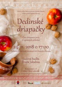 NEDOŽERY-BREZANY - Dedinské driapačky @ Kultúrno-spoločenská miestnosť Obecného úradu, Nedožery-Brezany | Nedožery - Brezany | Trenčiansky kraj | Slovensko