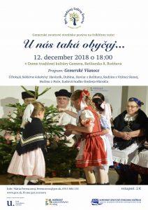 ROŽŇAVA - Gemerské Vianoce @ Dom tradičnej kultúry Gemera, Betliarska 8, Rožňava