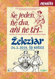 KOŠICE - Ňe jedn, ňe dva, aňi ňe tri... @ ŠD Košice